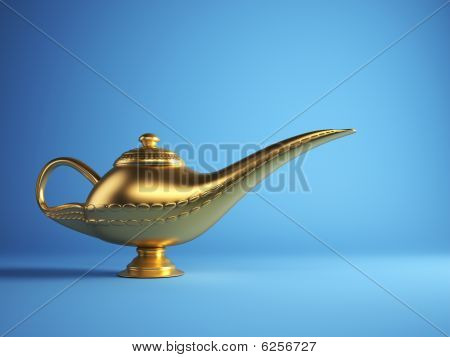 Magic Alladin Lamp
