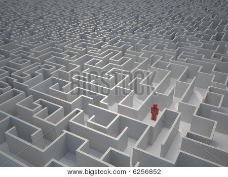 Lost In Maze