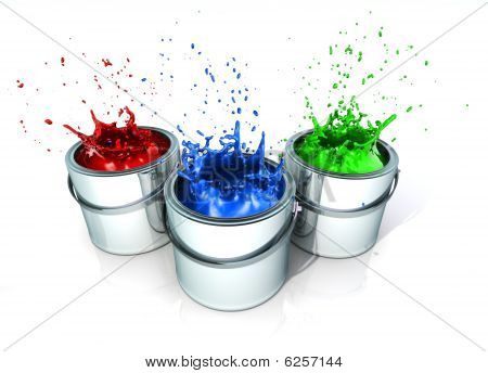 Latas de tinta