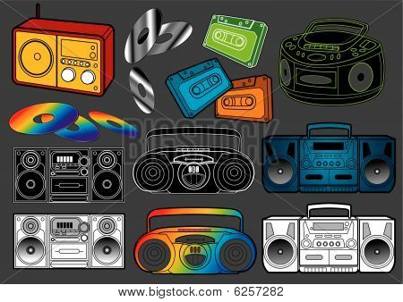 Music set : Radio's
