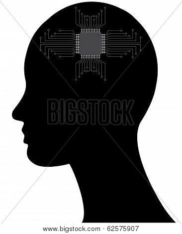 Microchip Head