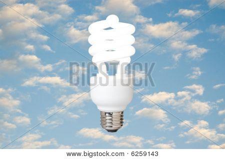 compacta lâmpada fluorescente