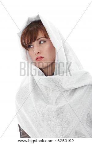 Mulher com lenço