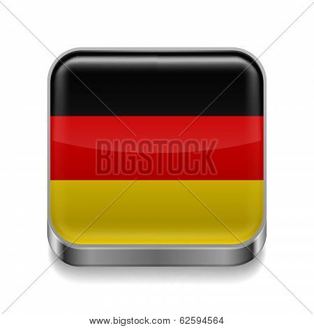 Metal  icon of Germany