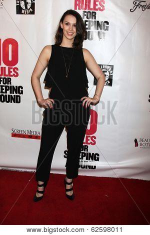 LOS ANGELES - APR 1:  Alexandra Von Renner at the
