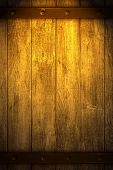 Golden Wooden Background