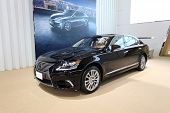 Nonthaburi - March 25: Lexus Ls 600Hl Car On Display At The 35Th Bangkok International Motor Show On