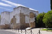foto of faro  - The walls of old city in Faro Algarve Capital Portugal - JPG