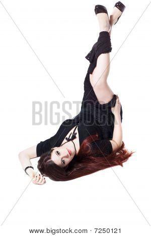 Pin-up Girl In Black