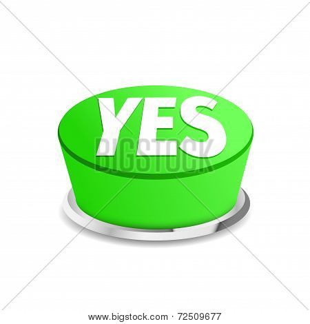 Time To Say Yes Button Sign Template