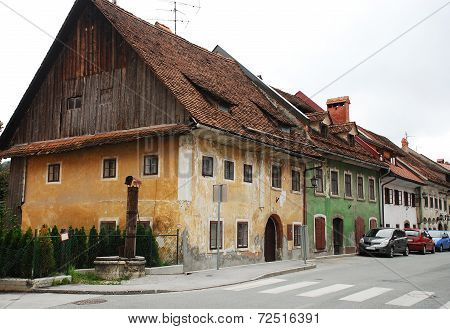 Historic Buildings In Skofja Loka
