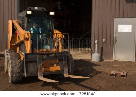 Woman Forklift Operator