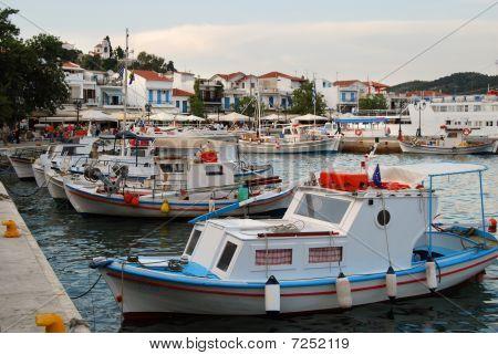 Small marina
