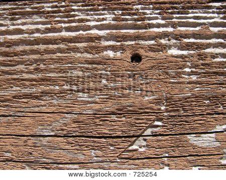 Grunge Wood Fence Detail