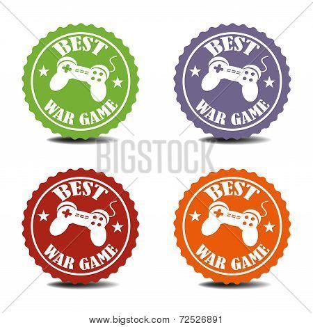 Best war game stickers