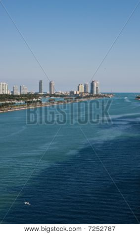 Shipping Lane By Biscayne Bay