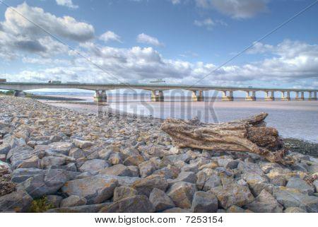 log at severn beach