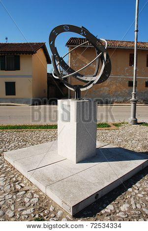 Armillary Sphere In Aiello