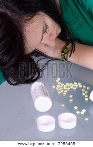Problema de las drogas Teen - sobredosis
