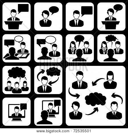 Talk social icon