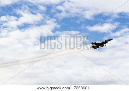 Air Show Of Turkish Air Force