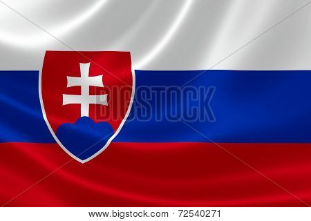 Slovak Republic's Flag
