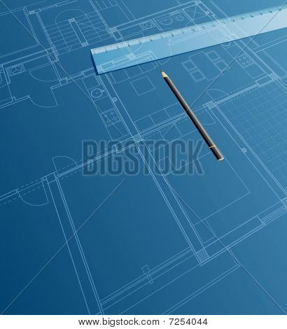 Blueprint Ruler