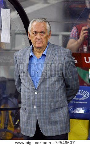 Head Coach Of Ukraine National Football Team Mykhailo Fomenko