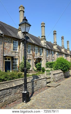 The Vicars' Close in Wells