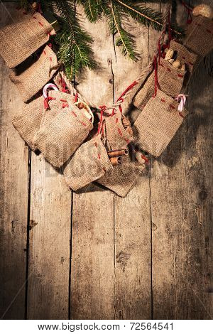 Advent Calendar With Little Sacks