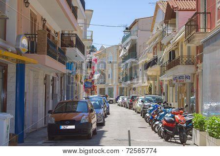 Zakynthos - may 14: the Narrow streets of the island of Zakynthos, may 14, 2013 in Zakynthos, Greece