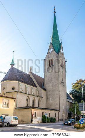 Domkirche St. Nikolaus In Feldkirch..