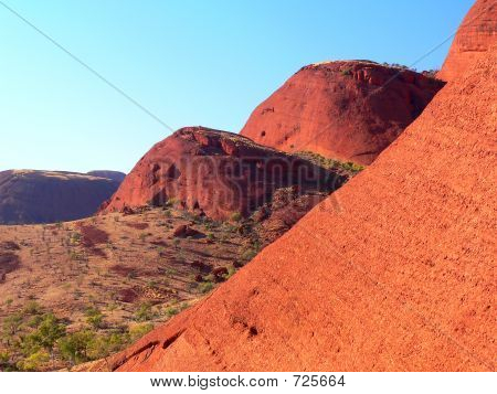 Kata Tjuta (The Olgas), Central Australia