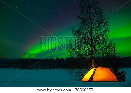 Camping in the north