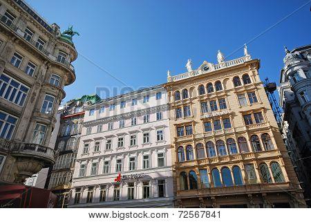 Graben Street In Vienna, Austria.