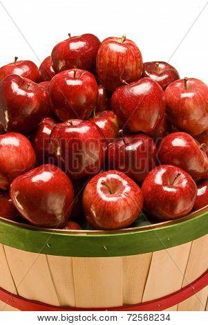 Bushel Of Red Apples