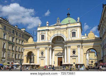 Catholic Church Of St. Catherine, Saint Petersburg, Russia