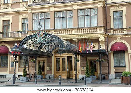 Grand Hotel Europe In Saint Petersburg