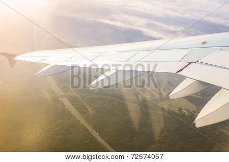Ground Through The Window Airplane