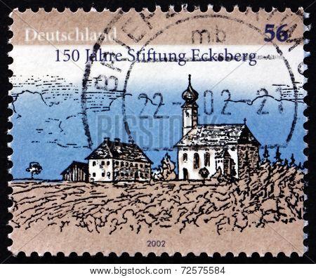 Postage Stamp Germany 2002 Ecksberg Foundation