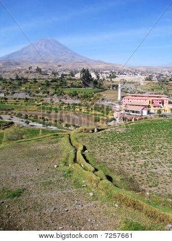Landscape Near Arequipa, Peru
