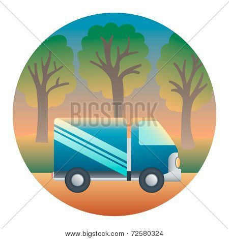 Truck Detailed Illustration
