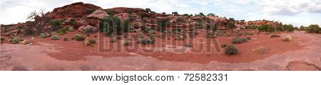 panorama-Red Rocks