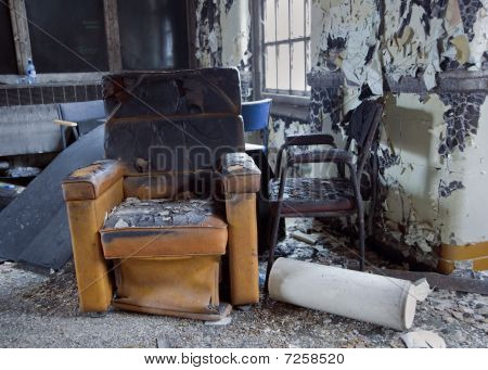 Fire Damage Furniture