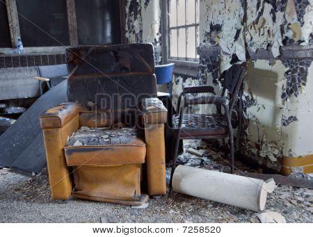 Muebles de daño de fuego