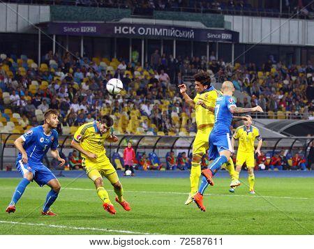 Uefa Euro 2016 Qualifying Game Ukraine Vs Slovakia