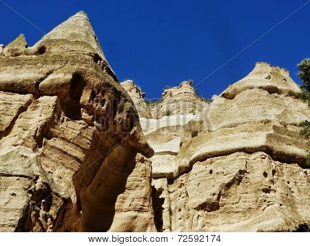 Kasha-Katuwe Tent Rocks National Monument in New Mexico, USA