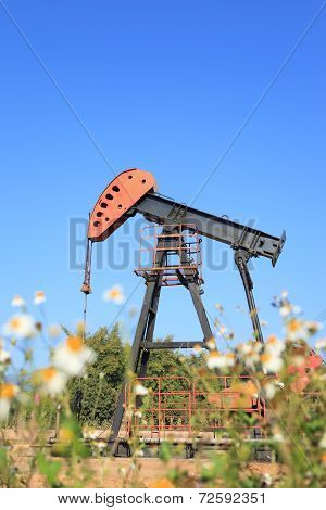Oil Pump Jack (Sucker Rod Beam)