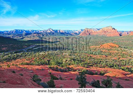 Red rock landscape of Sedona, Arizona