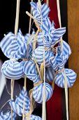 pic of sachets  - Dried lavender sachet bags - JPG